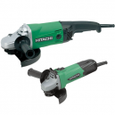 "Hitachi Grinder Twin Pack 9"" & 4.5"""