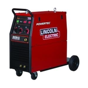 Lincoln Powertec 305C 400V MIG Package